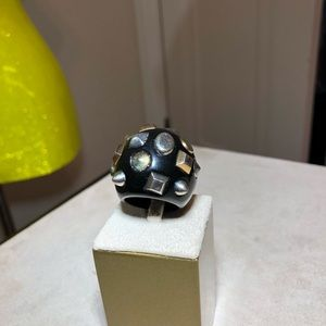 Vintage Mod Meets Punk Cocktail Ring!